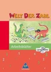 Welt der Zahl 3 - Arbeitsheft mit CD-ROM. Baden-Württemberg