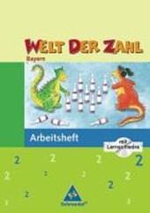 Welt der Zahl 2. Arbeitsheft mit CD-ROM. Bayern