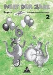 Welt der Zahl 2. Erweitertes Arbeitsheft mit CD-ROM. Bayern