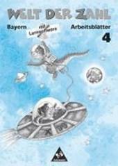 Welt der Zahl 4. Arbeitsheft mit CD-ROM. Bayern. Euro-Ausgabe