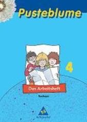 Pusteblume. Das Sachbuch 4. Arbeitsheft. Sachsen. Neubearbeitung
