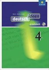 deutsch ideen 4. Arbeitsheft 4 mit CD-ROM. Baden-Württemberg