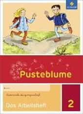 Pusteblume. Das Sprachbuch 2. Arbeitsheft. Lateinische Ausgangsschrift LA. Allgemeine Ausgabe