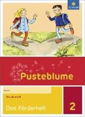 Pusteblume. Das Sprachbuch 2. Förderheft. Druckschrift DS
