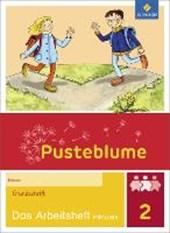 Pusteblume. Das Sprachbuch 2. Arbeitsheft inklusiv. Grundschrift GS