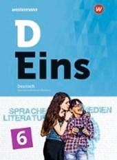 D Eins - Deutsch 6. Schülerband 5 (inkl. Medienpool). Gymnasien. Nordrhein-Westfalen