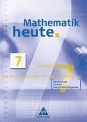 Mathematik heute 7. Arbeitsheft Mittelschule Sachsen Realschulbildungsgang