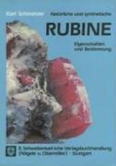 Natürliche und synthetische Rubine