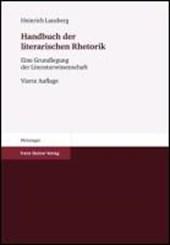 Handbuch der literarischen Rhetorik