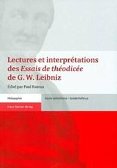 """Lectures et interprétations des """"Essais de théodicée"""" de G. W. Leibniz"""