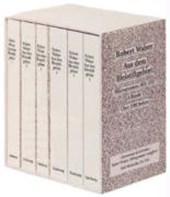Aus dem Bleistiftgebiet. Ausgabe in sechs Bänden