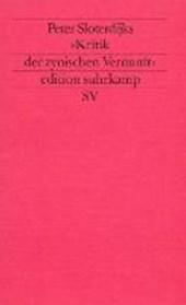 Peter Sloterdijks Kritik der zynischen Vernunft