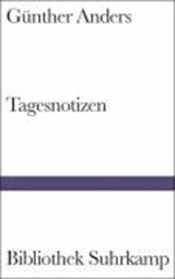 Tagesnotizen | Günther Anders |