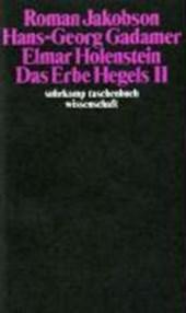Das Erbe Hegels (II)