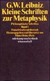 Kleine Schriften zur Metaphysik