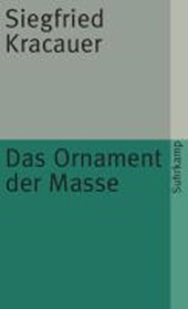 Das Ornament der Masse | Siegfried Kracauer |