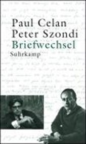 Briefwechsel Paul Celan / Peter Szondi | Paul Celan |