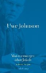 Uwe Johnson - Mutmassungen über Jakob | Uwe Johnson |