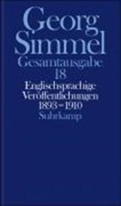 Englischsprachige Veröffentlichungen 1893 -