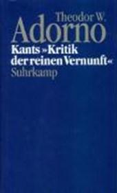 Kants ' Kritik der reinen Vernunft' (1959)