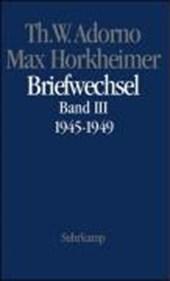 Max Horkheimer. Briefwechsel 1927 -