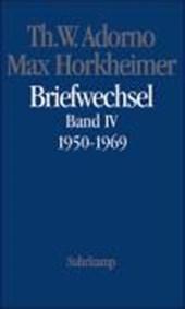Max Horkheimer. Briefwechsel 1950 -
