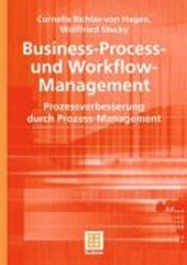 Business-Process- und Workflow-Management | Cornelia Richter-Von Hagen |