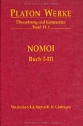 Werke IX/2. Nomoi ( Gesetze). Buch I - III