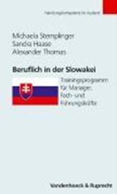 Beruflich in der Slowakei