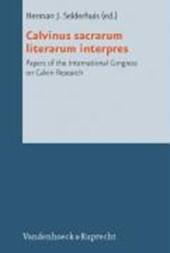 Calvinus sacrarum literarum interpres