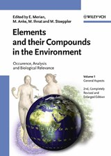 Elements and their Compounds in the Environment | Ernest Merian |