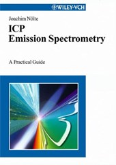 ICP Emission Spectrometry | N & Joachim Ouml;lte |