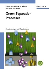 Green Separation Processes | Carlos A. M. Afonso |