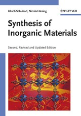 Synthesis of Inorganic Materials | Ulrich Schubert |