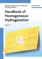 Handbook of Homogeneous Hydrogenation | Johannes G. De Vries |