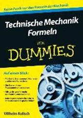 Technische Mechanik Formeln fur Dummies