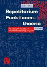 Repetitorium Funktionentheorie | Andreas Herz |