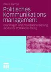 Politisches Kommunikationsmanagement | Klaus Kamps |