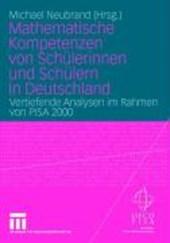 Mathematische Kompetenzen von Schülerinnen und Schülern in Deutschland