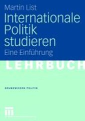 Internationale Politik studieren | Martin List |