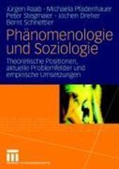 Ph nomenologie Und Soziologie