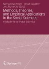 Methods, Theories, and Empirical Applications in the Social Sciences | auteur onbekend |