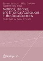 Methods, Theories, and Empirical Applications in the Social Sciences |  |