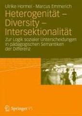 Heterogenität - Diversity - Intersektionalität