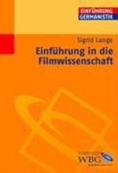 Einführung in die Filmwissenschaft