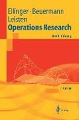 Operations Research | Günter Beuermann |