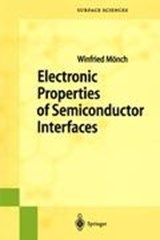 Electronic Properties of Semiconductor Interfaces | Winfried Mönch |