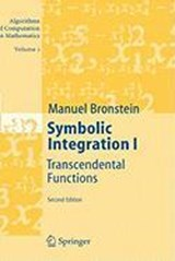 Symbolic Integration | Manuel Bronstein |