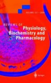 Reviews of Physiology, Biochemistry, and Pharmacology |  |
