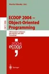 ECOOP 2004 - Object-Oriented Programming